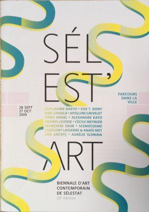Sélest'Art, 2019, biennale d'Art contemporain à Sélestat.